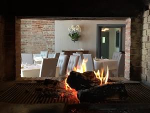 ristorante cascina malingamba in origgio - camino